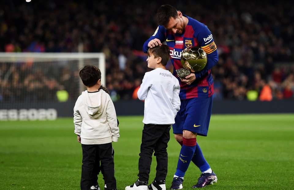 Lionel Messi reveals the six footballers his eldest son Thiago talks about - Bóng Đá
