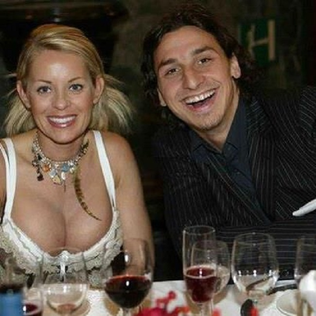 The riddle about Helena's and Zlatan's relationship: