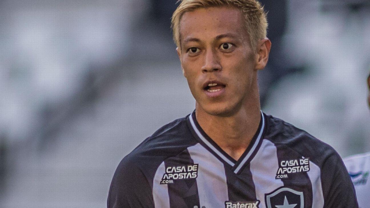 Honda scores in Botafogo debut - Bóng Đá