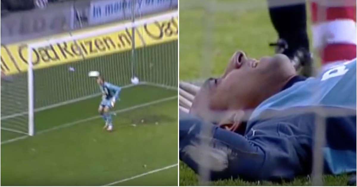 When legend Edgar Davids nearly KO'd Heurelho Gomes with a 35-yard volley - Bóng Đá