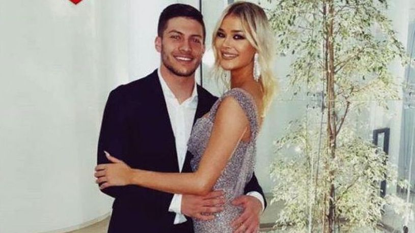 Jovic escapes from quarantine to fly to Serbia and celebrate the birthday of his Sofija FOTO - Bóng Đá