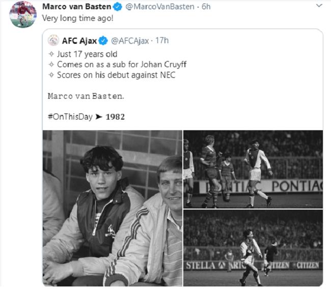 Van Basten ra mắt - Bóng Đá