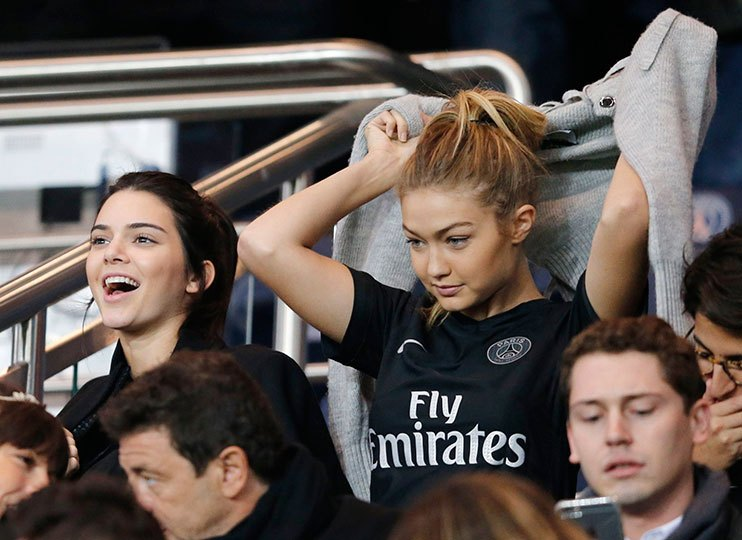 Meet the world's sexiest football fans, Chelsea's Sophie Rose to PSG's celebs Rihanna, Gigi Hadid and Kendall Jenner - Bóng Đá