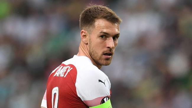 Ramsey không giành được danh hiệu lớn khi chơi cho Arsenal.