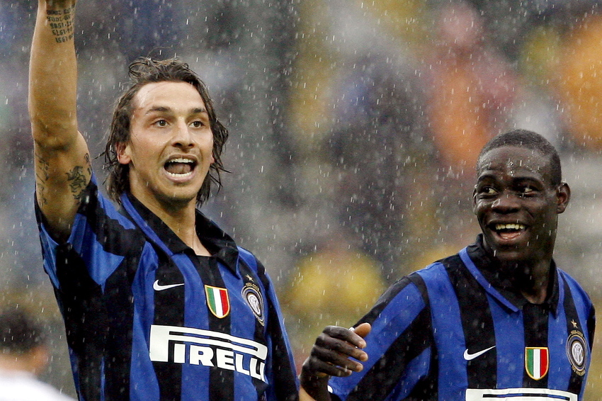 Mario Balotelli received a strong message from Ibrahimovic at the age of sixteen - Bóng Đá