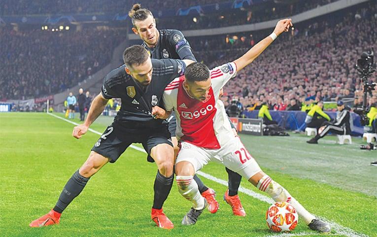 Dàn sao đình đám của Real nhọc nhằn trước Ajax.
