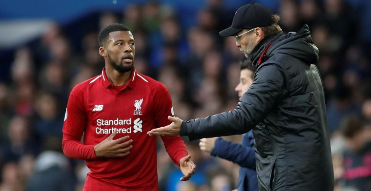 Klopp makes Wijnaldum 'very angry': 'I only heard after the game' - Bóng Đá