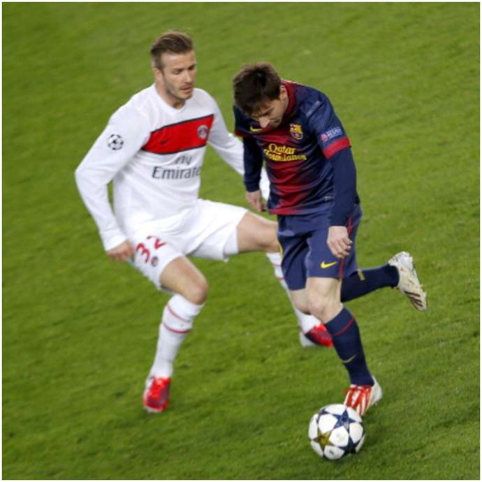 David Beckham admits that Lionel Messi's pace made him decide to retire - Bóng Đá
