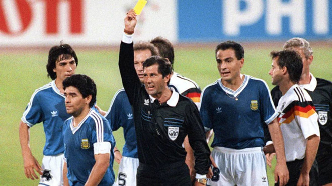 Referee reveals why he could have sent Maradona off before 1990 World Cup final - Bóng Đá