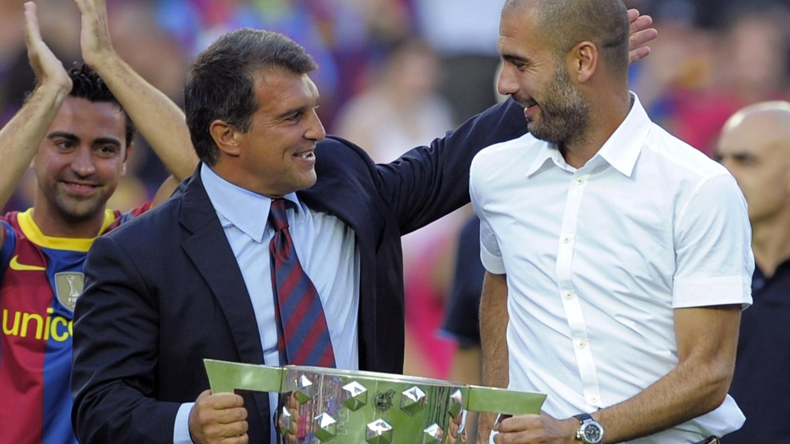 Laporta announces with striking promise in Barça race: 'I want Guardiola back' - Bóng Đá