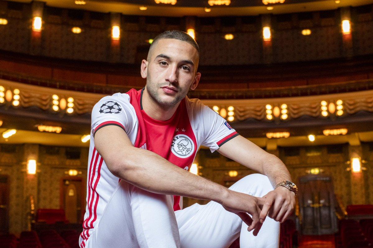 Ziyech named Ajax player of the season - Bóng Đá