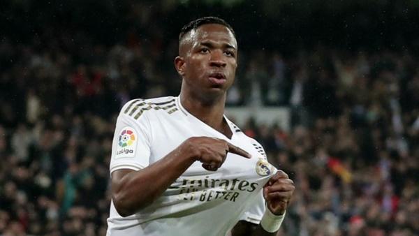Vinicius muốn vô địch La Liga - Bóng Đá