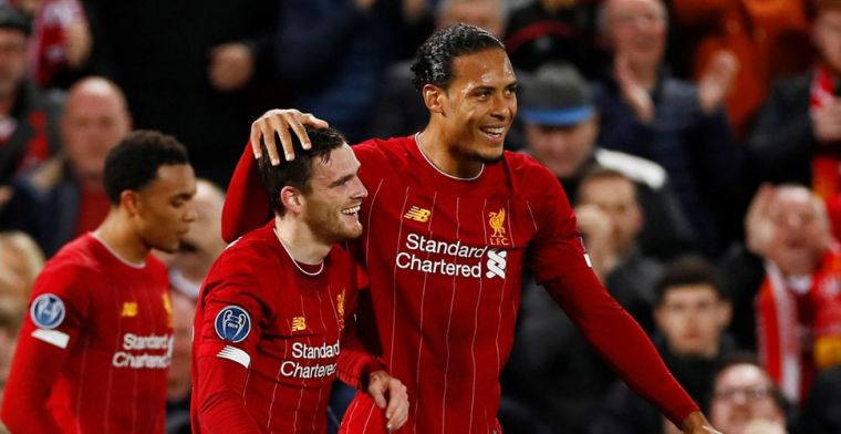 Liverpool teammate raved about Van Dijk: 'The big guy is absolute class' - Bóng Đá