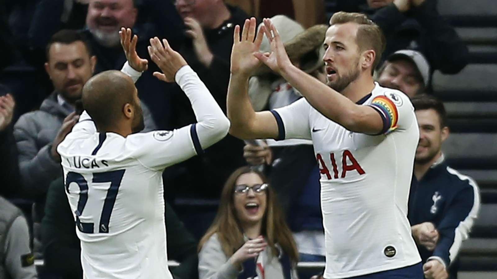 Kane is already a Premier League legend & he makes me a better player - Moura - Bóng Đá