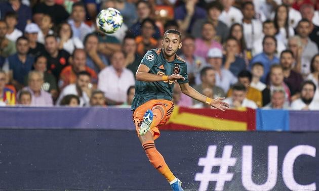 Hakim Ziyech chooses the most beautiful goal in four seasons at Ajax - Bóng Đá