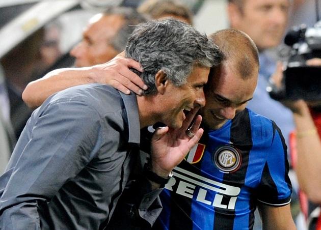 Sneijder tiết lộ cách quản lý cầu thủ của Mourinho, góp phần giúp Inter ăn ba - Bóng Đá