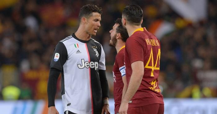 Ronaldo không đổi áo với AS Roma - Bóng Đá