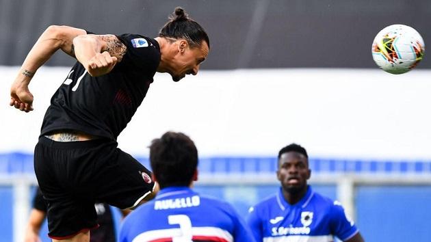 Zlatan lại lập cú đúp, AC Milan tiếp tục đại thắng - Bóng Đá