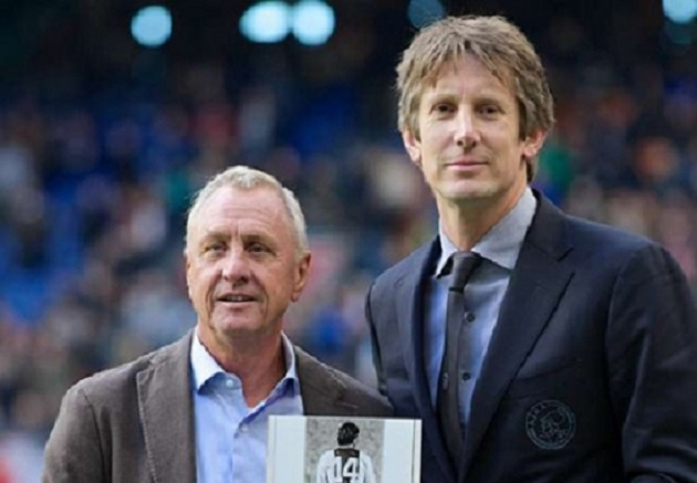Van der Sar 9 years of Ajax director: 'Cruijff was right, Overmars and I notice' - Bóng Đá