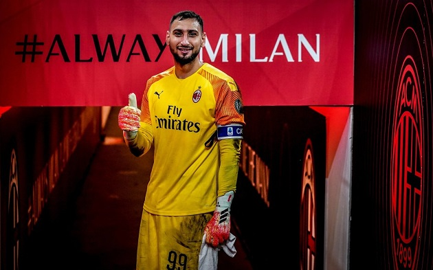 I see Donnarumma captain, he is among the top 3 in the world. - Bóng Đá