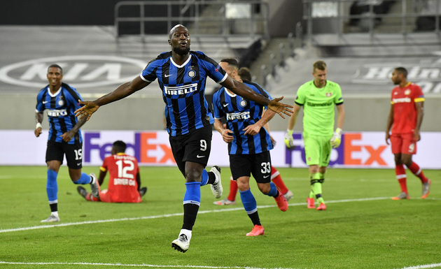 Lukaku continues to break records by scoring in Inter's Europa League clash with Bayer Leverkusen - Bóng Đá
