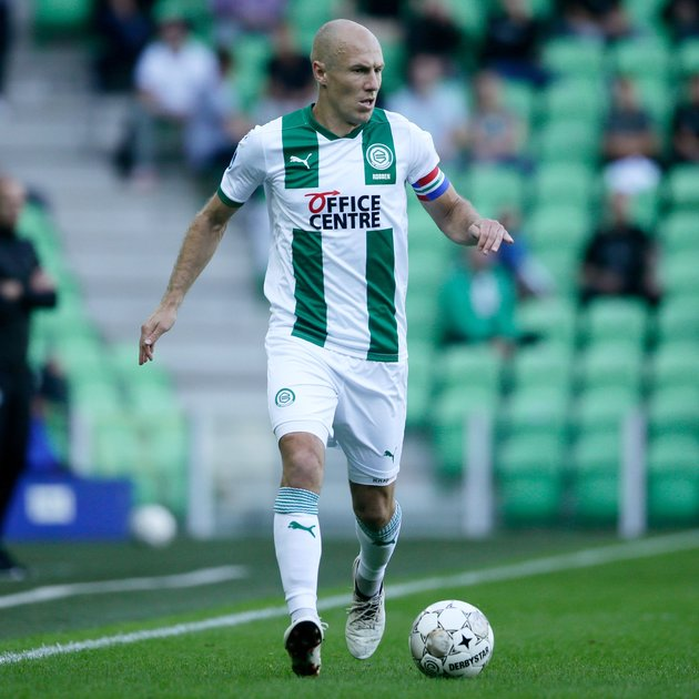 Robben chấn thương - Bóng Đá