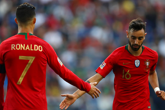 'Maybe I Can Help Cristiano Ronaldo'- Bruno Fernandes on Portugal Team-mate Breaking Goalscoring Record - Bóng Đá