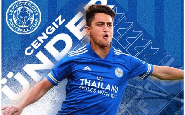 OFFICIAL: Under moves to Leicester - Bóng Đá