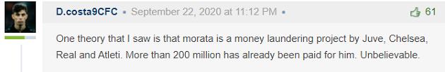Phản ứng CĐV Morata đến Juve - Bóng Đá