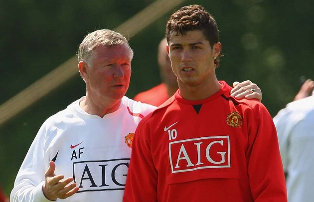 Nemanja Vidic Reveals How Cristiano Ronaldo Reacted When Sir Alex Ferguson Shouted at Him for the Very First Time - Bóng Đá