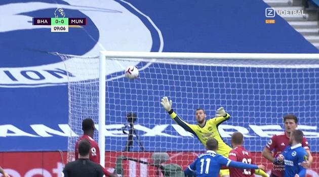 TRỰC TIẾP Brighton - Man United: Đội chủ nhà suýt mở tỷ số - Bóng Đá
