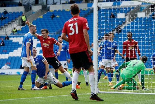 TRỰC TIẾP Brighton 1-1 Man United [HẾT H1]: Maguire ghi bàn gỡ hòa - Bóng Đá