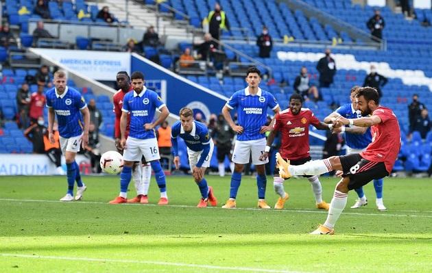 TRỰC TIẾP Brighton 2-3 Man United: Trận đấu kết thúc! - Bóng Đá
