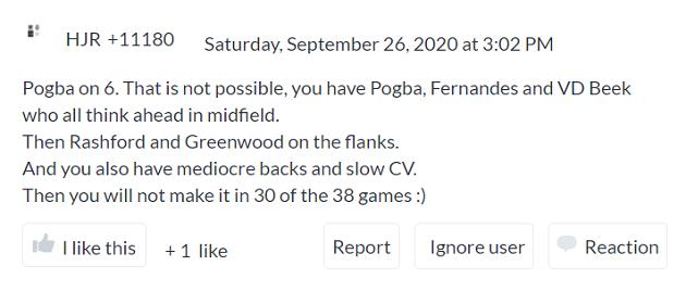 Fan nói về việc Pogba, van de Beek, Bruno cùng đá chính - Bóng Đá