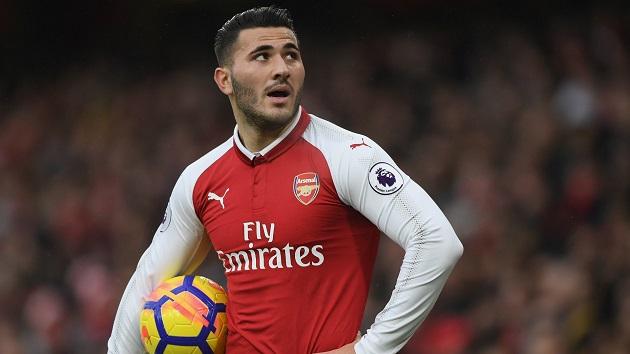 Ngôi sao người Bosnia & Herzegovina đang khoác áo Arsenal, Sead Kolasinac cũng không thể tham dự sân chơi lớn nhất cấp độ đội tuyển tại Châu Âu.