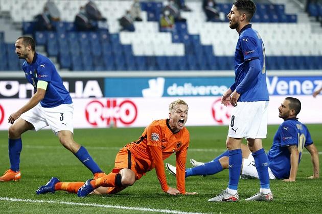 Van de Beek vượt trội cặp sao Liverpool trong đại chiến Ý - Hà Lan - Bóng Đá