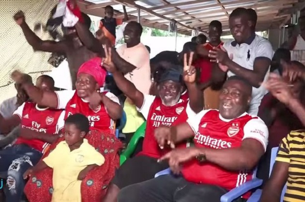 Thomas Partey's family had wild reaction to Arsenal debut at Man City - Bóng Đá