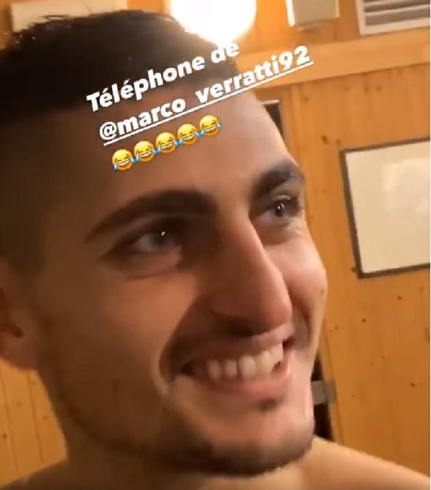 Verratti PSG Kepa troll - Bóng Đá