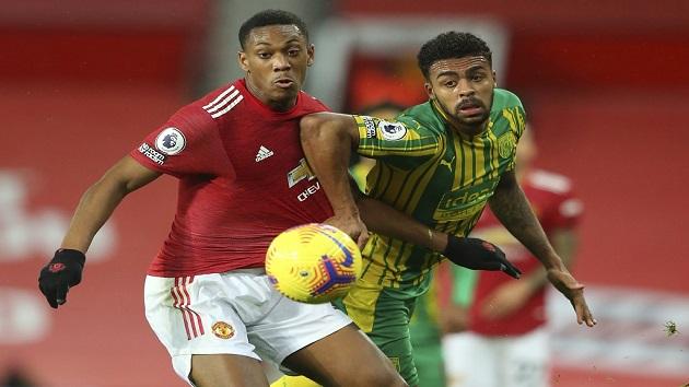 CHOÁNG: Quả volley của Maguire khiến hậu vệ West Brom nằm sân - Bóng Đá