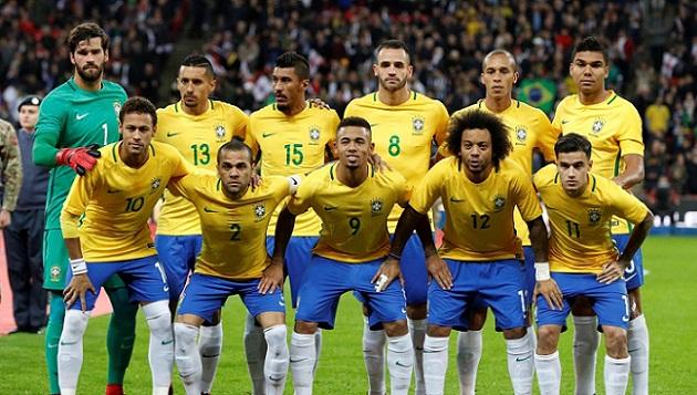 Tối ưu hóa đội tuyển Brazil như thế nào? - Bóng Đá