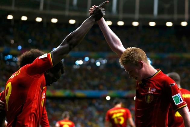 Sao MU và Man City gây vấn đề nghiêm trọng trên tuyển Bỉ - Bóng Đá