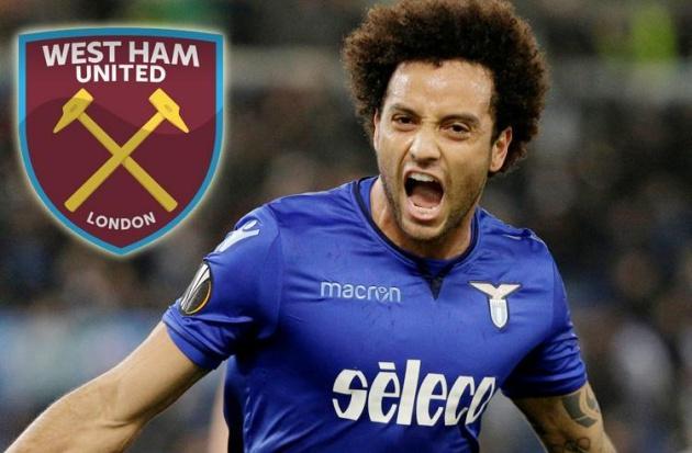 NÓNG: West Ham tiếp tục 'đốt cháy' phiên chợ hè với thoả thuận 40 triệu bảng từ Lazio - Felipe anderson - Bóng Đá
