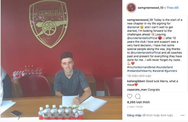 Đánh bại Man Utd, Arsenal sở hữu chữ ký của thần đồng 16 tuổi greenwood - Bóng Đá