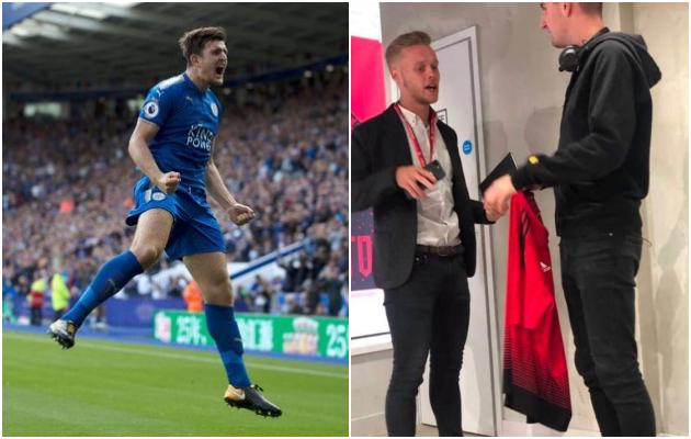 NÓNG: Maguire đã cầm áo đấu của Man Utd? - Bóng Đá