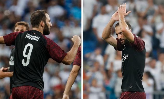 higuain không ăn mừng bàn thắng vào lưới real - Bóng Đá
