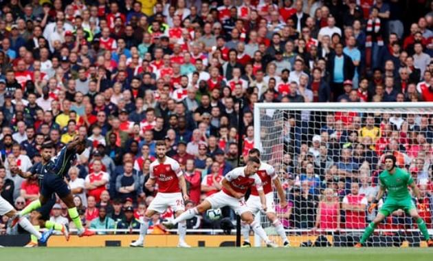 Sao Man City cán mốc 50 bàn tại NHA với pha lập công vào lưới Arsenal - Bóng Đá