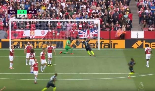 Tân binh Arsenal bị đổ lỗi sau bàn thắng của Raheem Sterling - Bóng Đá