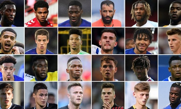Chelsea đã cho mượn gần '3 đội hình' mùa hè này - Bóng Đá