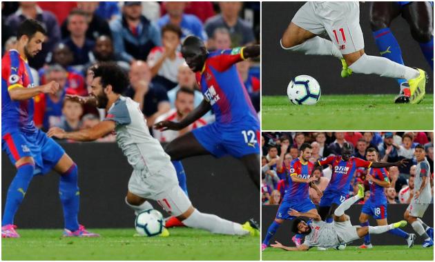 Mohamed Salah có 'ăn vạ' trong tình huống mở tỉ số của Liverpool? - Bóng Đá
