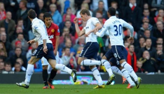 Top 5 cuộc đụng độ giữa M.U và Tottenham tại Old Trafford - Bóng Đá